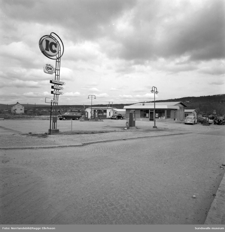 IC-station (OK) vid Bergsgatan 94, Bultgatan.