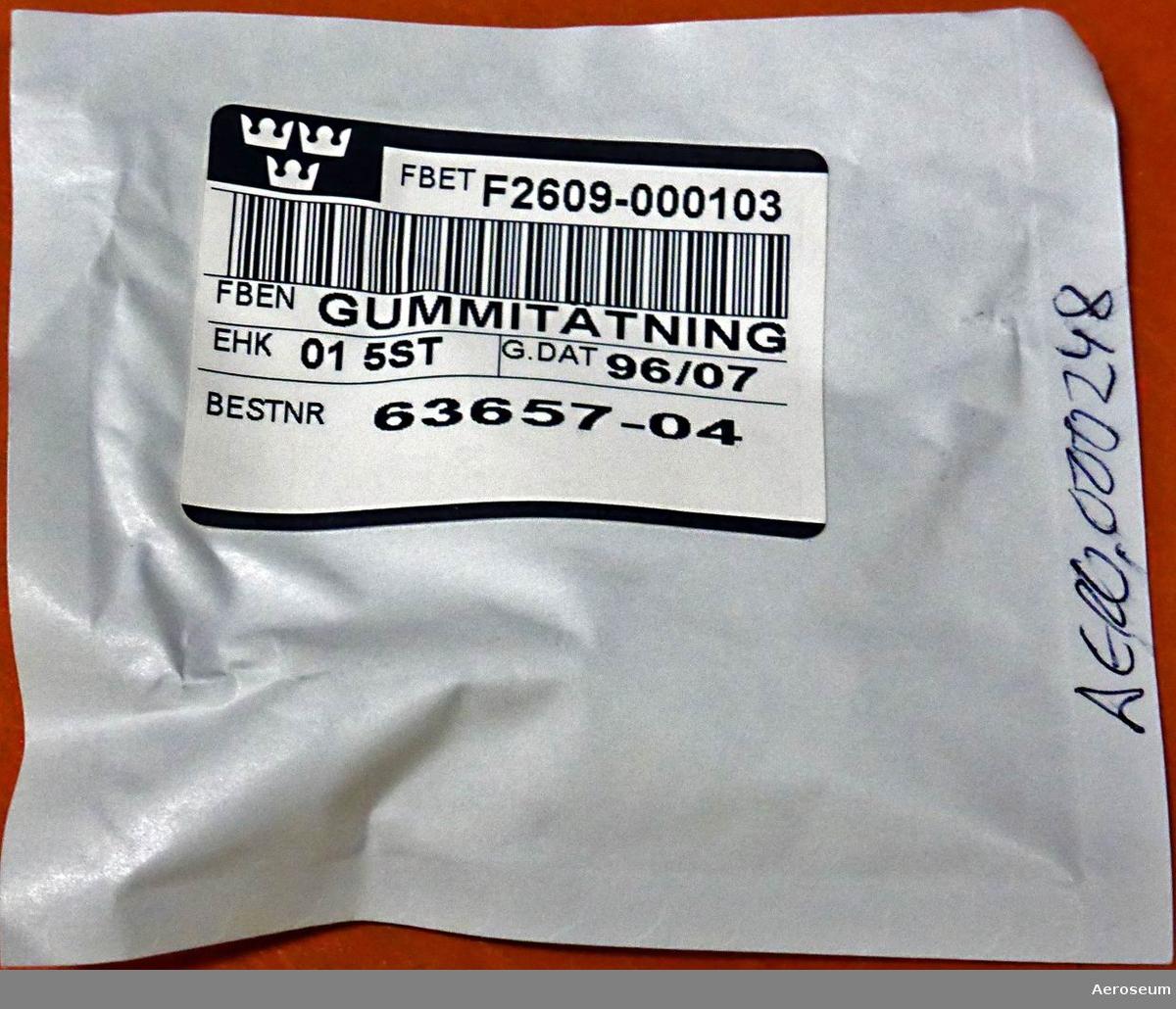 I folierad pappersförpackning