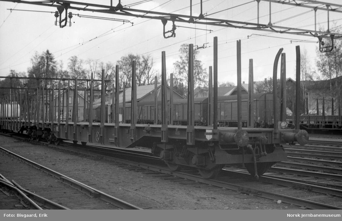 Plattformvogn litra Rgps på Ski stasjon