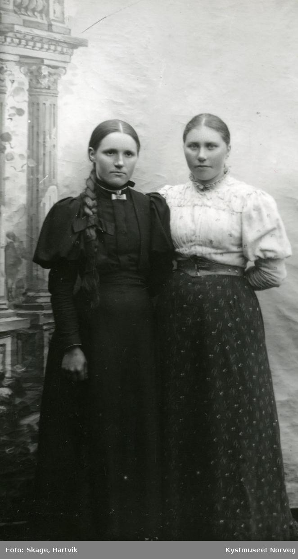 Unge ukjente kvinner