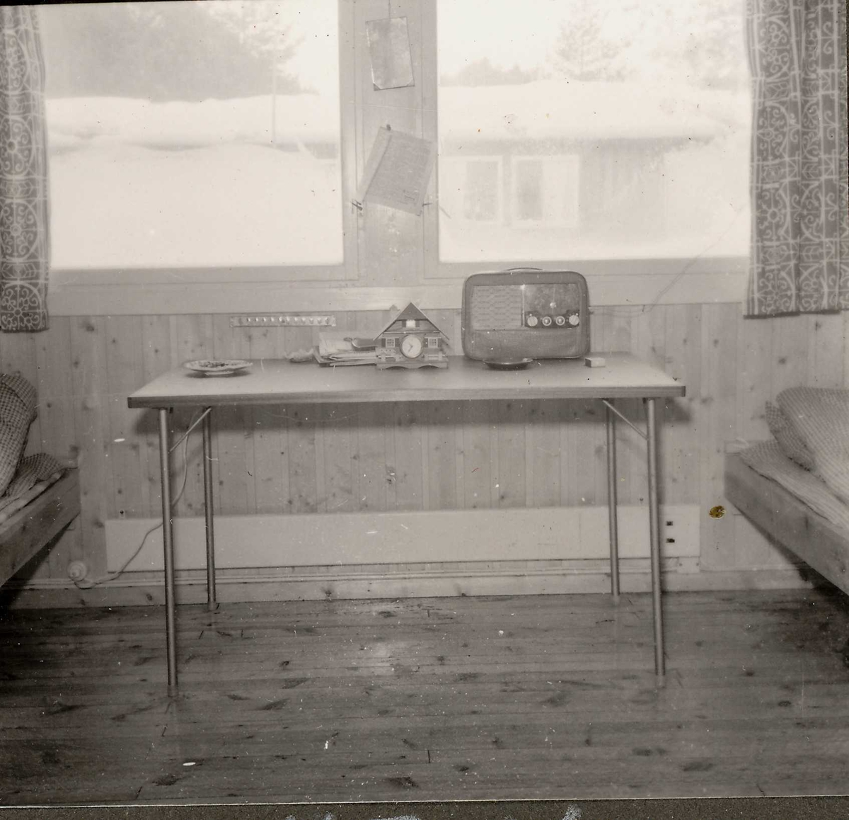 Brakke på Buøy 4,jan 1959