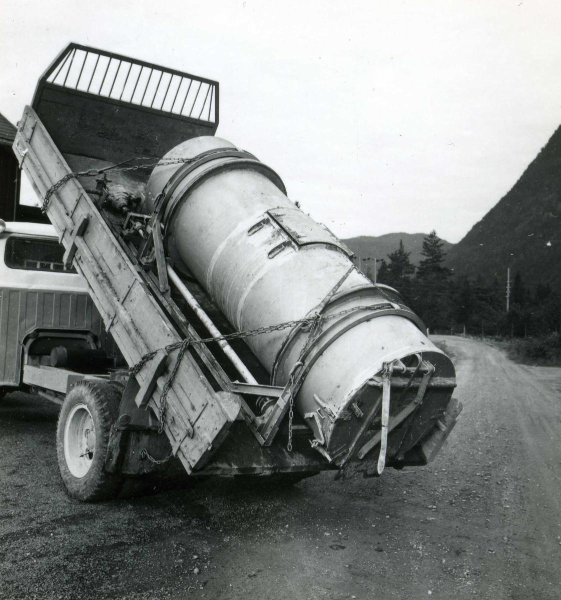Dalen 76, betong