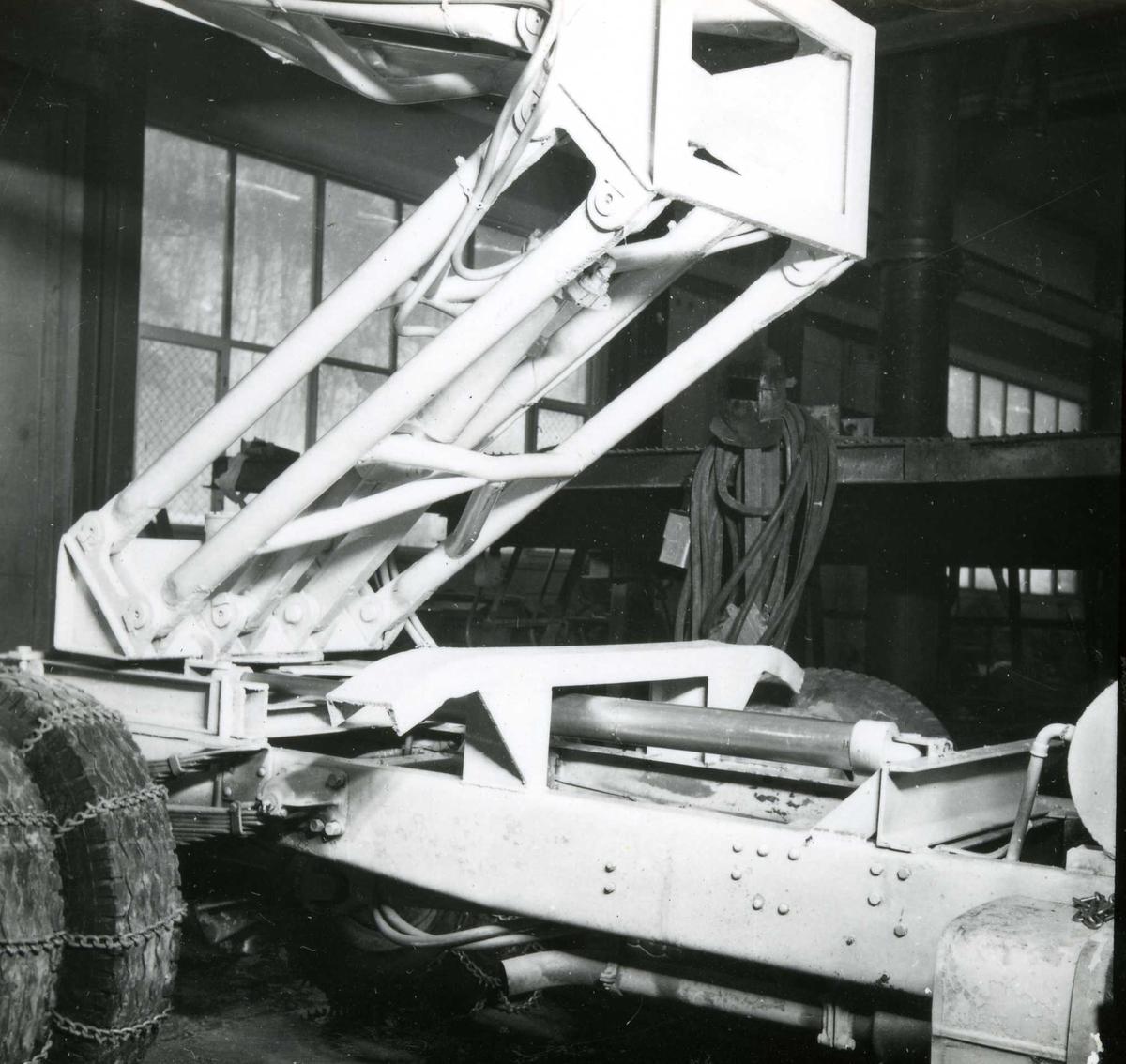 Dalen-lageret 8, maskiner
