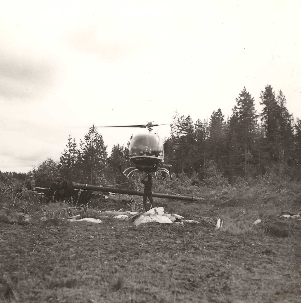 Helikopter Skafså,  12.07.61