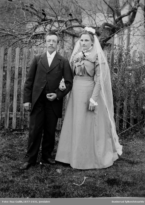 Bryllup Bryllup Jon O Lindbu og Anna K Myhra Jondalen Foto 1899