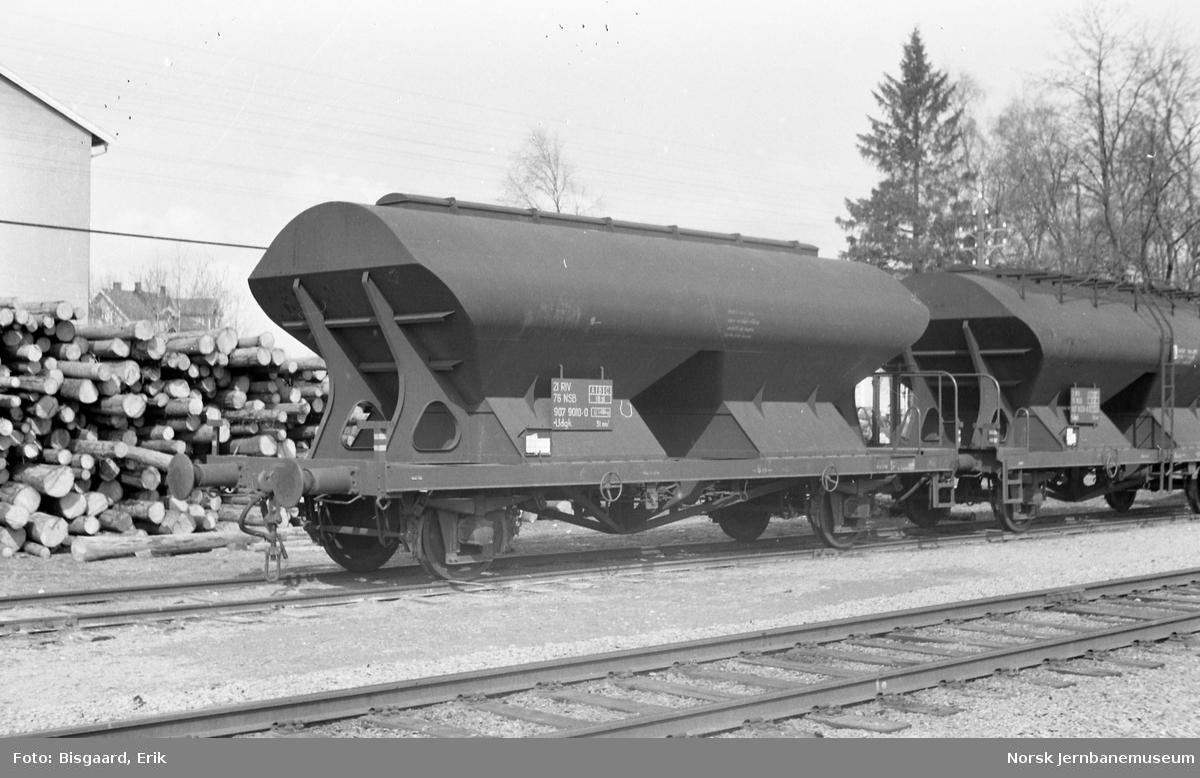 Bulkvogn litra Udgk nr. 907 9010 på Kirkenær stasjon