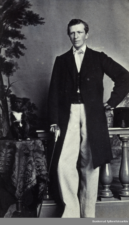 Georg von Krogh    Visittkortalbum