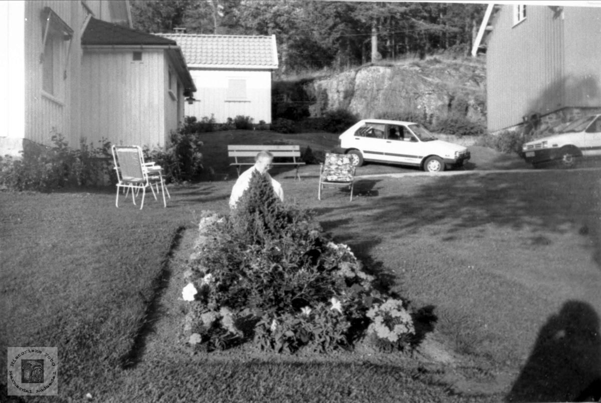 """Heimen """"Åsen"""" på Koland."""