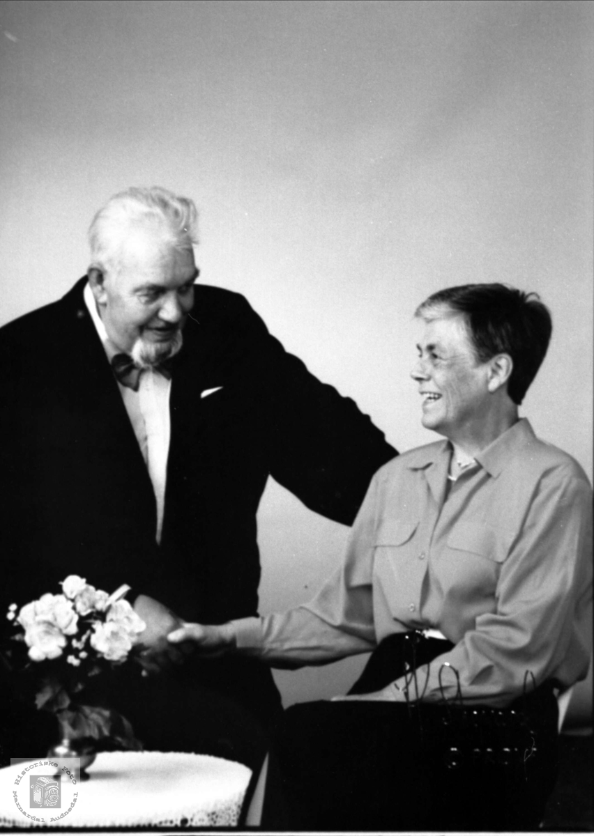 Ektepar. Torgny og Inger Kristine Aukland.