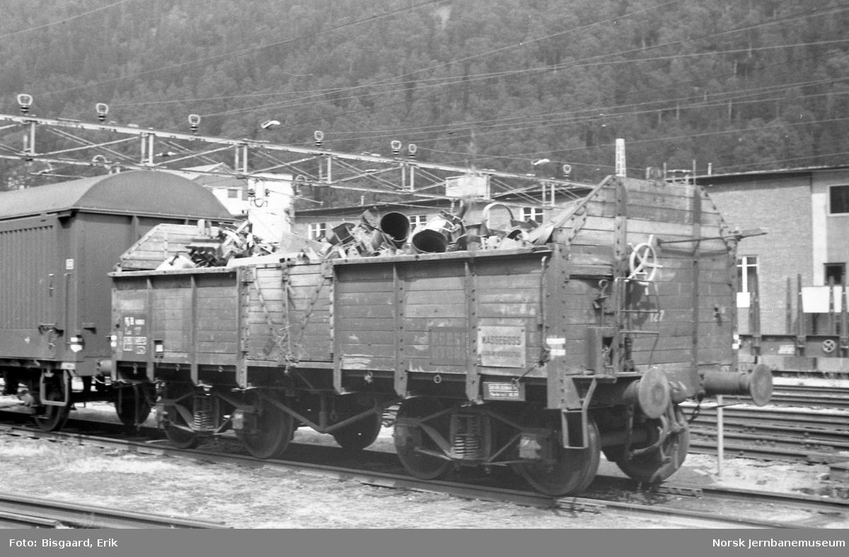 Rjukanbanens godsvogn litra Lo3 nr 127