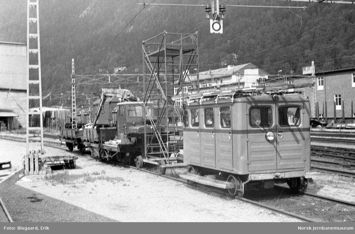 Diverse internmateriell på Rjukan stasjon