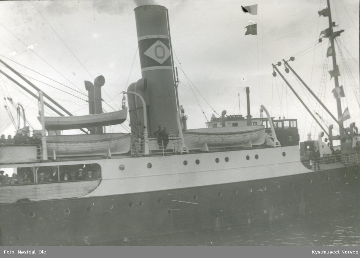 """Hurtigruteskipet """"Kronprins Olav"""""""