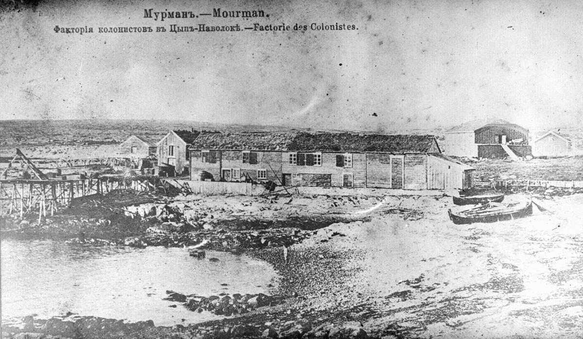 Mourman. - Factorie des Colonistes