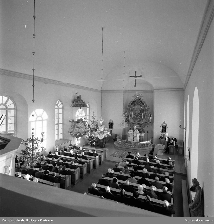 200-årsjubileum i Stöde kyrka.