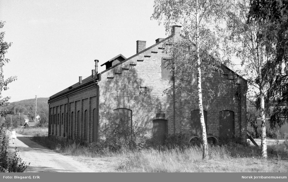 Lokomotivstallen på Bjørkelangen stasjon