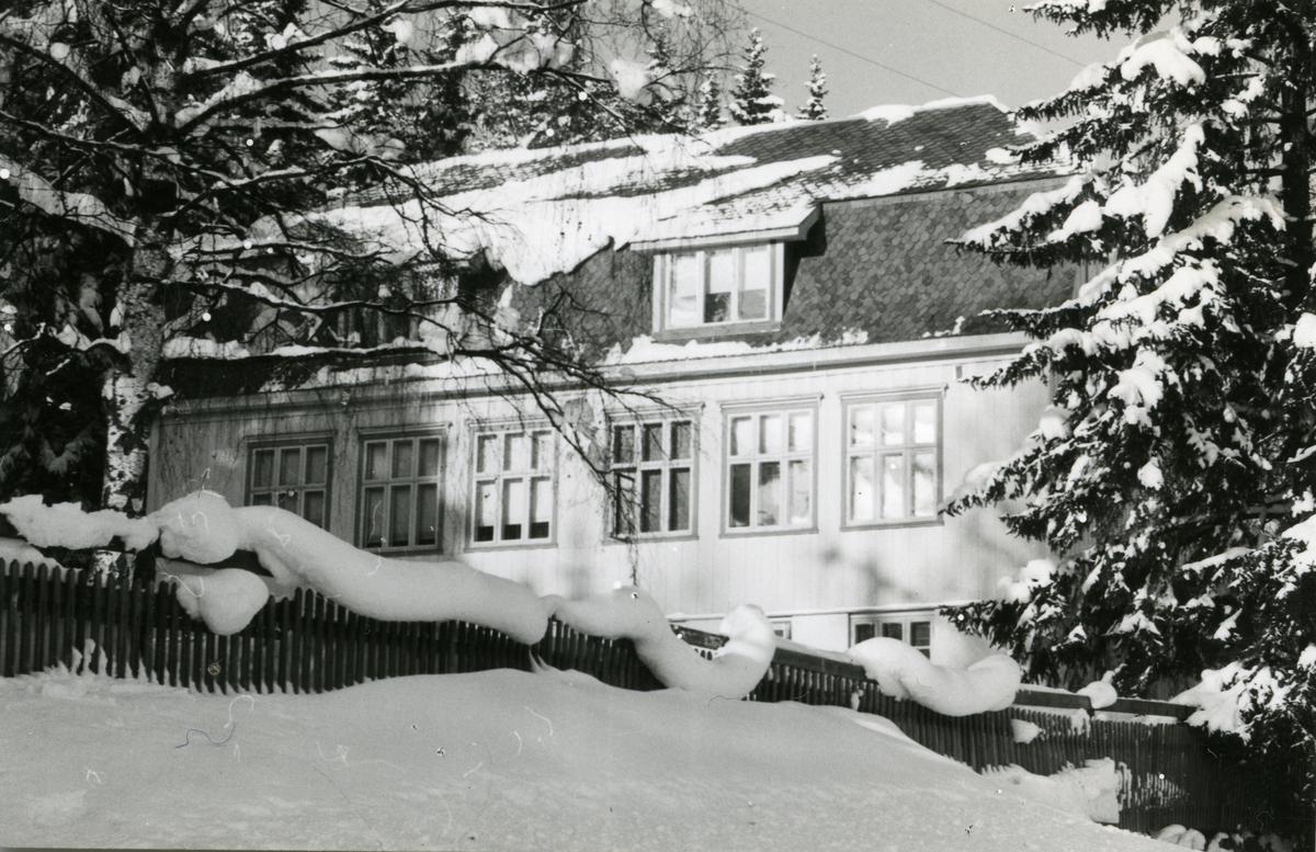 Fagernes gamle skule i Nord-Aurdal kommune i Valdres.