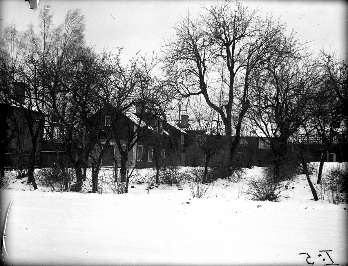 Kvarteret Mesen, Schultzska gården. Fotograf: E Sörman Fotokopia finns.