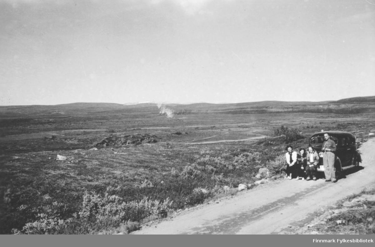 'Finnmarksvidda mell. Alta og Kautokeino' B 7811