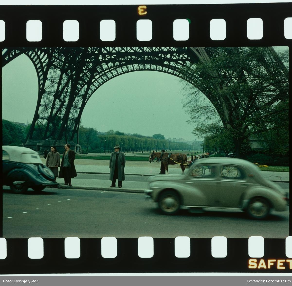 Fra Paris, Eiffeltårnet.