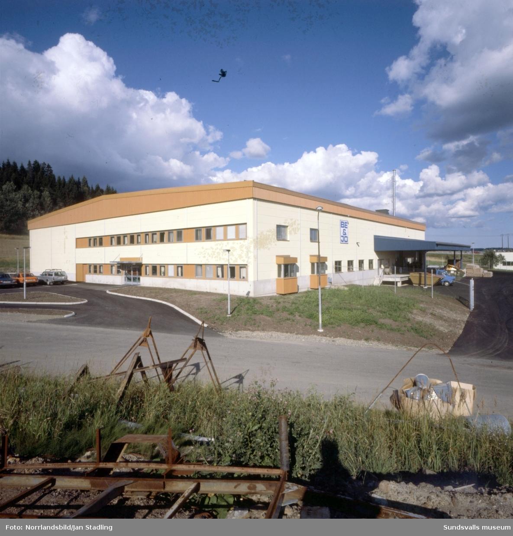 Företaget Be & Jo, nybyggd kontors-/verkstadsfastighet i norra Birsta. På senare år (2015) har fastigheten på Birstavägen 4 använts som gymnastikhall.