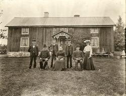 Amnabro, hösten 1908 Fröderyds Hembygdsförening