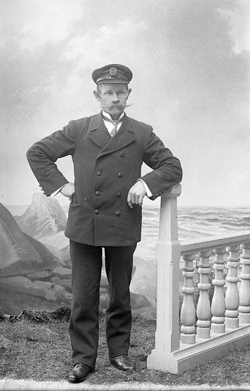 Byggmästare Alfred Bohlin 1904
