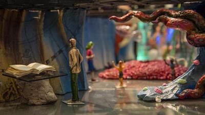modell av utstilling som kommer. Foto/Photo