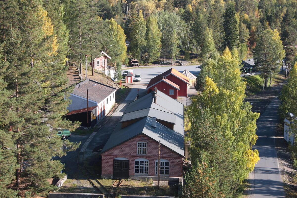 Luftbilde av Saggrenda (Foto/Photo)