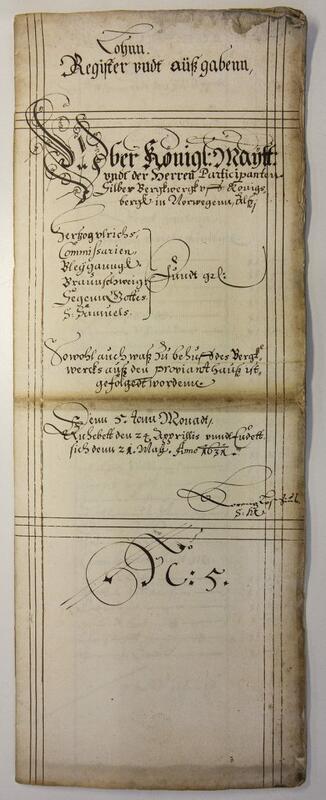 Gruva er først funnet navngitt i skiktmester Lorentz Lossius' regnskap for Underberget i mai 1631. (Lossius er kjent som grunnleggeren av Røros kobberverk, men kom først til Kongsberg fra Tyskland.) (Foto/Photo)
