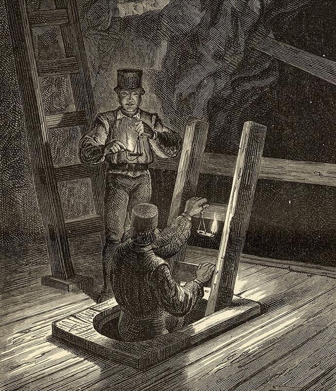 Sølvgruvene - illustrasjon