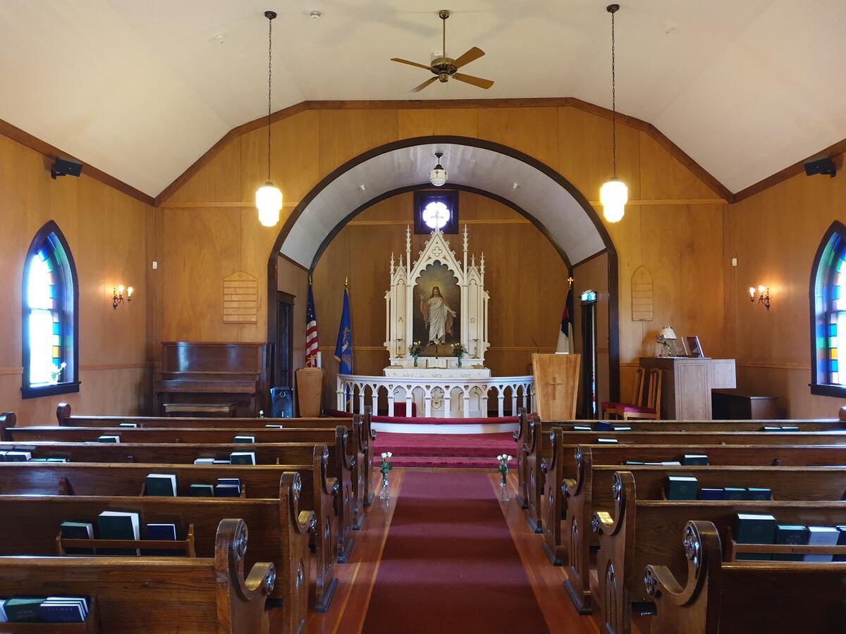 Kirkerom i Emigrankirken (Foto/Photo)