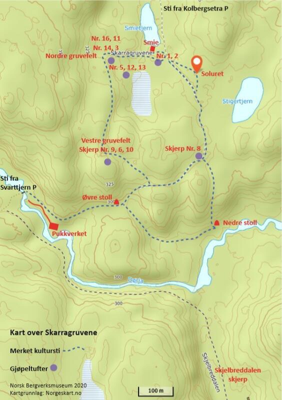 Kart Skarragruvene (Foto/Photo)