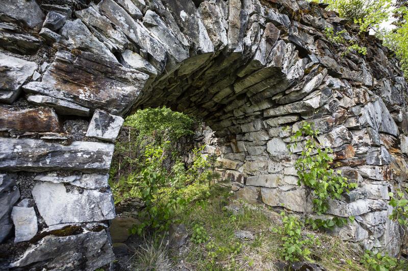 Hvelving i Kronprinsens gruves kunsthjulstue. (Foto/Photo)