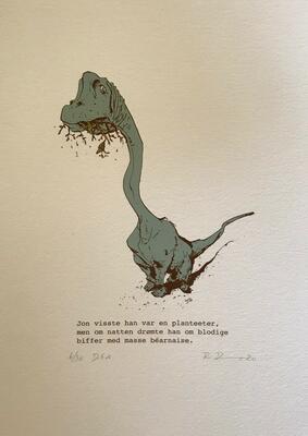 Jon.21x29,7cm DGA-trykk (Digital Graphic Art) på Hahnemühle William Turner 310 gsm. Opplag: 50 Signert og nummerert - kr 1200 (Foto/Photo)