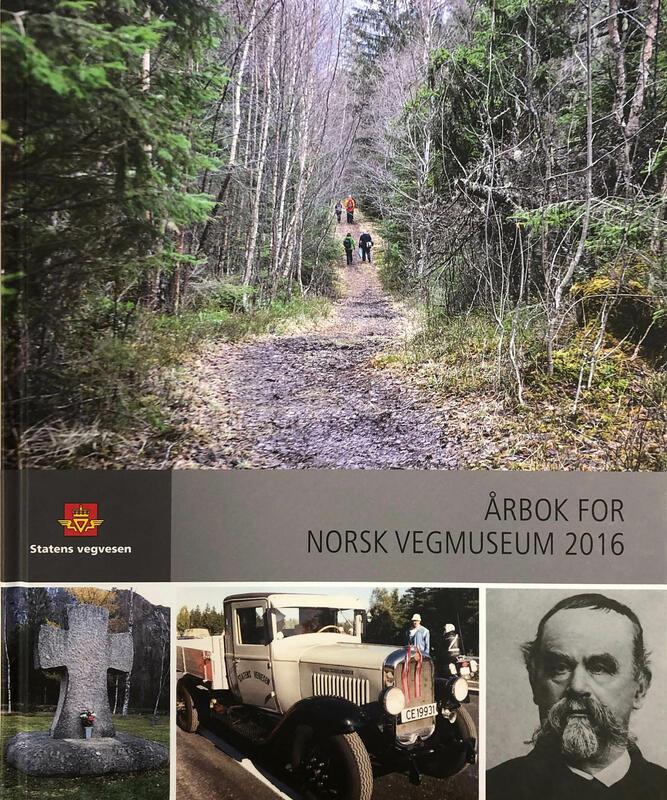 Forside: Årbok for Norsk vegmuseum 2016 (Foto/Photo)