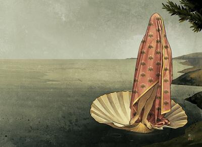 ETTER BOTTICELLI 65 x 50 cm / motiv: 55 x 40 cm. Giclée på 308g Hahnemüle papir. 20 eks. 3000 kr. (Foto/Photo)