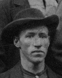 Hytteknekt Petter N. Hugsted (1859-1936) (Foto/Photo)