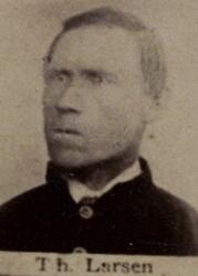 Tømmermann Thorkild Larsen (1834-1900) (Foto/Photo)
