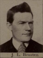Sjakthauer Johannes L. Braaten (1854-1907) (Foto/Photo)
