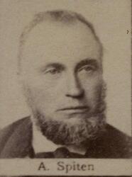 Smed Aron R. Spiten (1837-1900) (Foto/Photo)