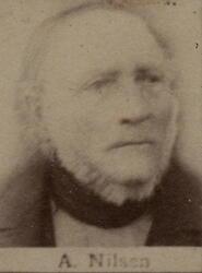 Kontorbud Andreas Nilsen (1817-1897) (Foto/Photo)