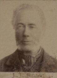 Kontorassistent Jens Jørgen Jensen (1827-1907) (Foto/Photo)