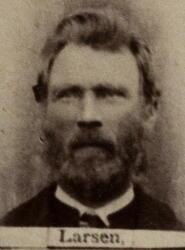 Sekretær Lars Sofus Larssen (1854-1933) (Foto/Photo)