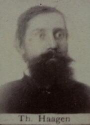Pukkverksarbeider Thoreus H. Haugen (1850-1890) (Foto/Photo)