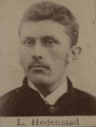 Borhauer Ludvig J. Hedenstad (1866-1905) (Foto/Photo)
