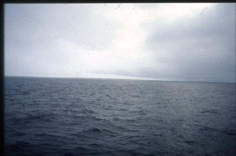 Kvitöya (Vitön) från fartyget Origo.