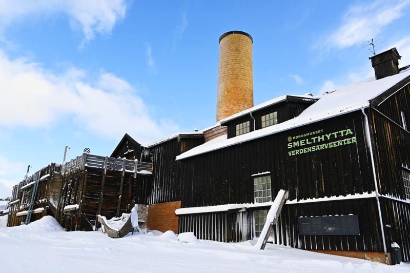 Smelthytta vinter (Foto/Photo)