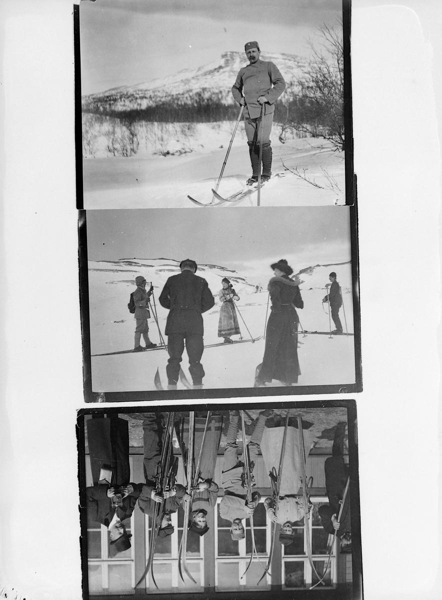 Diverse skiløpere