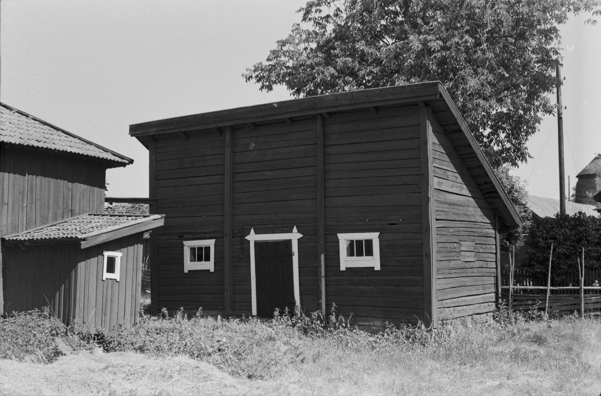 Fähus, Ekeby 6:1, Ekeby by, (tomt 6), Vänge socken, Uppland 1975