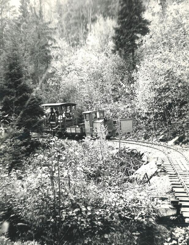 Her er toget på vei ut fra Gundershogget stasjon. Foto: Olaf Wiegels. (Foto/Photo)
